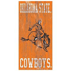 Oklahoma State Cowboys Heritage Logo Wall Sign