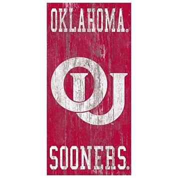 Oklahoma Sooners Heritage Logo Wall Sign