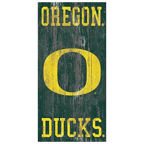 Oregon Ducks Heritage Logo Wall Sign