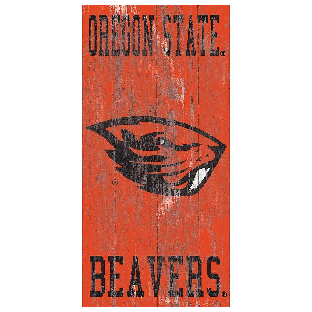 Oregon State Beavers Heritage Logo Wall Sign