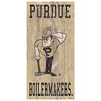 Purdue Boilermakers Heritage Logo Wall Sign