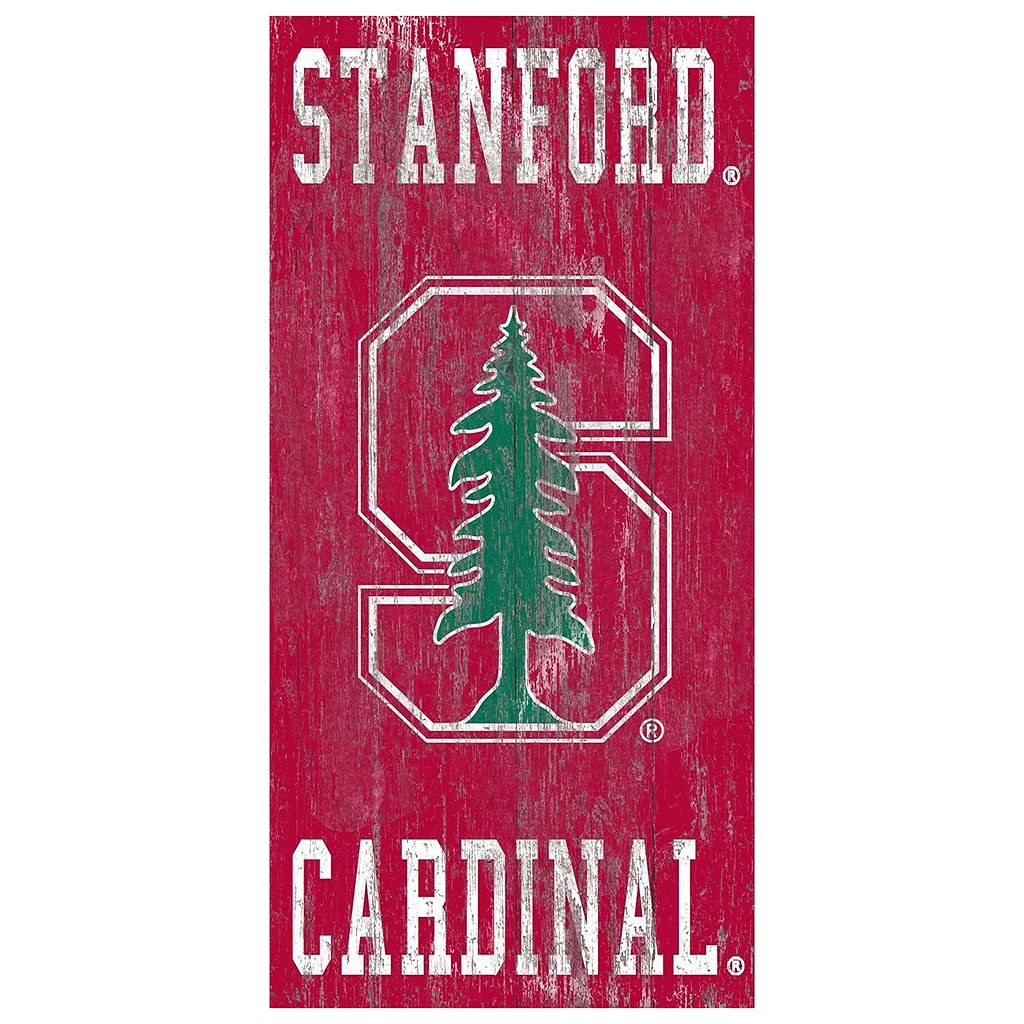 Stanford Cardinal Heritage Logo Wall Sign