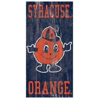 Syracuse Orange Heritage Logo Wall Sign