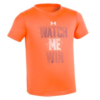 """Toddler Boy Under Armour """"Watch Me Win"""" Tee"""