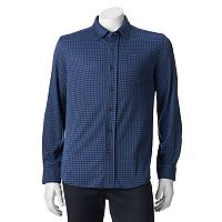 Men's Croft & Barrow® True Comfort Classic-Fit Knit Button-Down Shirt