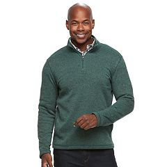 Men's Croft & Barrow® Classic-Fit Outdoor Sweater Fleece Quarter-Zip Pullover