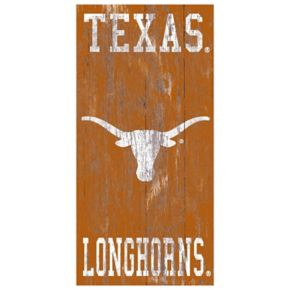 Texas Longhorns Heritage Logo Wall Sign
