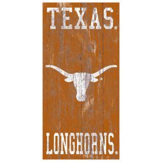 Texas Longhorns Heritage Logo Wall Sign