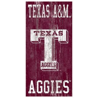 Texas A&M Aggies Heritage Logo Wall Sign