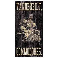 Vanderbilt Commodores Heritage Logo Wall Sign
