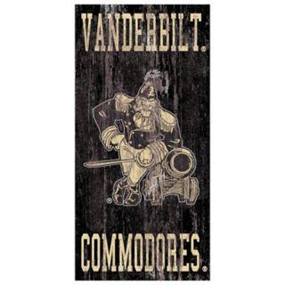 Vanderbilt Commodores Heritage Logo Wall Sign