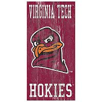 Virginia Tech Hokies Heritage Logo Wall Sign