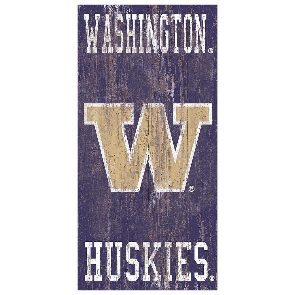 Washington Huskies Heritage Logo Wall Sign