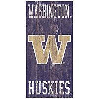 Washington Huskies Heritage Logo Wall Sign