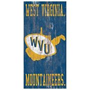West Virginia Mountaineers Heritage Logo Wall Sign