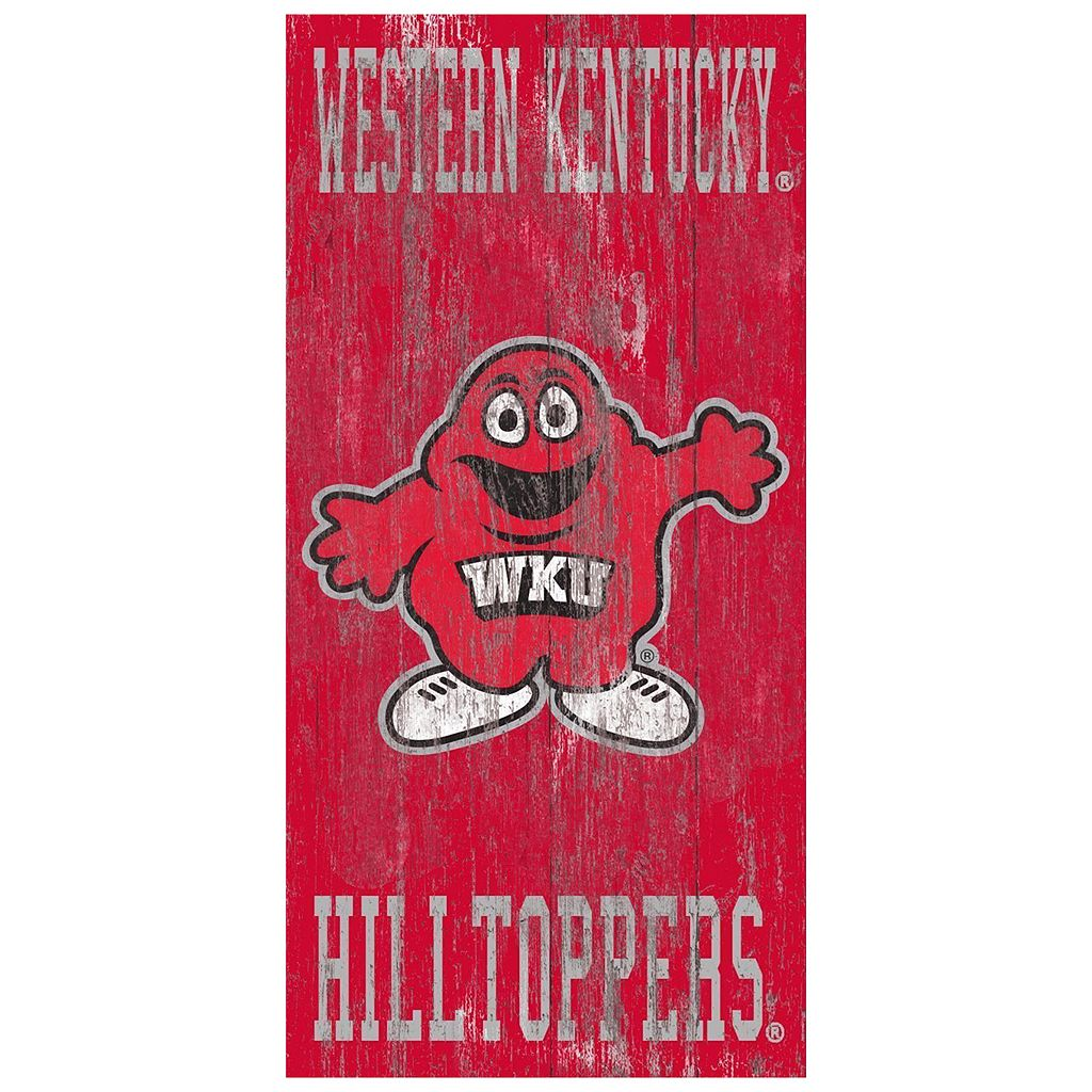 Western Kentucky Hilltoppers Heritage Logo Wall Sign