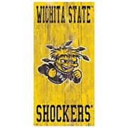 Wichita State Shockers Heritage Logo Wall Sign