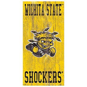 Wichita State Shockers Heritage Logo Wall Sign