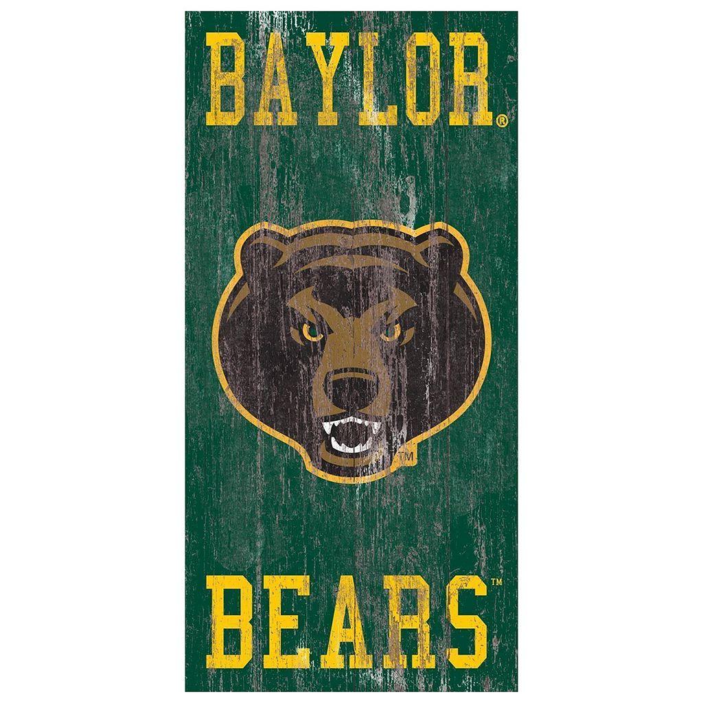 Baylor Bears Heritage Logo Wall Sign