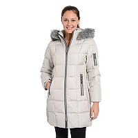 Women's Fleet Street Down Faux-Fur Trim Jacket