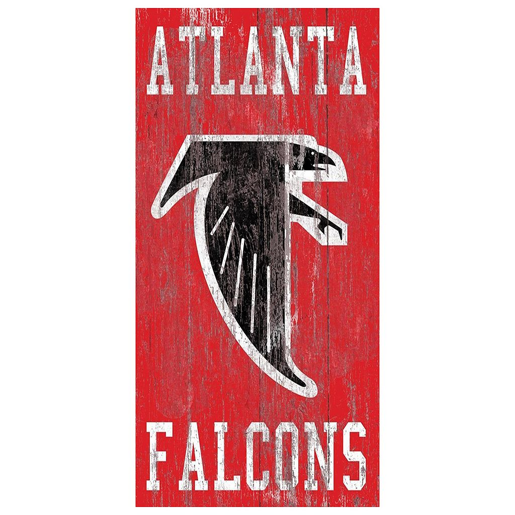 Atlanta Falcons Heritage Logo Wall Sign