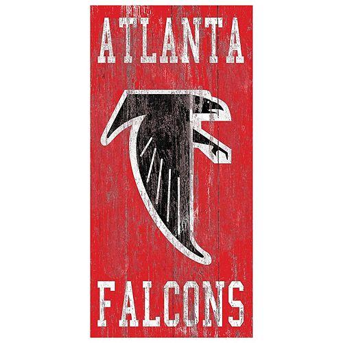 Atlanta Falcons Heritage Logo Wall Sign