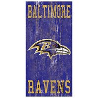 Baltimore Ravens Heritage Logo Wall Sign