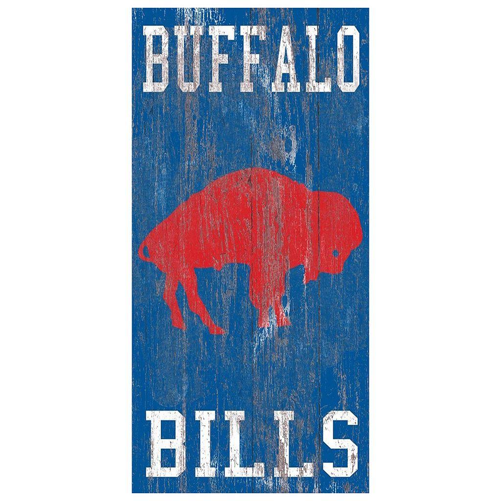 Buffalo Bills Heritage Logo Wall Sign