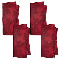 The Big One® Poinsettia Napkin 4-pk.