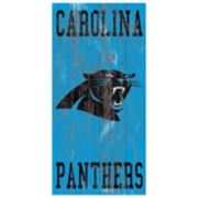 Carolina Panthers Heritage Logo Wall Sign