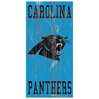 Carolina Panthers Heritage Logo Wall Sign