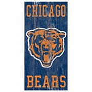 Chicago Bears Heritage Logo Wall Sign