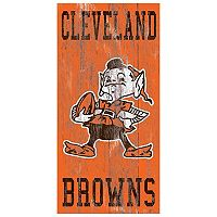 Cleveland Browns Heritage Logo Wall Sign