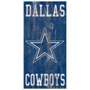 Dallas Cowboys Heritage Logo Wall Sign