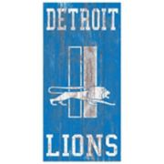 Detroit Lions Heritage Logo Wall Sign
