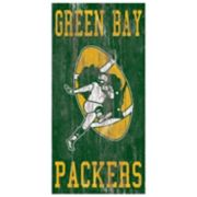 Green Bay Packers Heritage Logo Wall Sign
