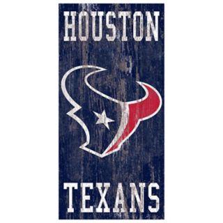 Houston Texans Heritage Logo Wall Sign