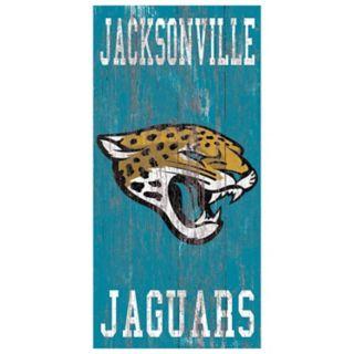 Jacksonville Jaguars Heritage Logo Wall Sign