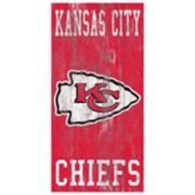 Kansas City Chiefs Heritage Logo Wall Sign