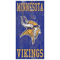 Minnesota Vikings Heritage Logo Wall Sign