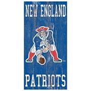New EnglandPatriots Heritage Logo Wall Sign