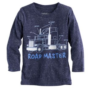 """Toddler Boy Jumping Beans® """"Road Master"""" Semi-Truck Graphic Tee"""