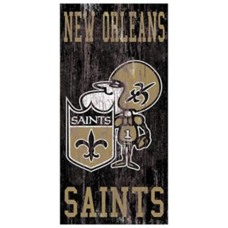 New Orleans Saints Heritage Logo Wall Sign