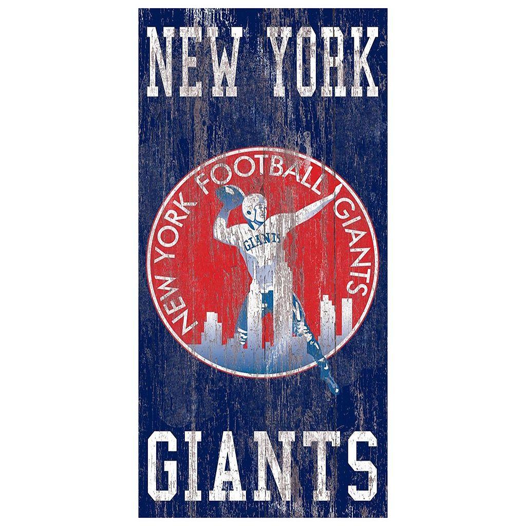 New York Giants Heritage Logo Wall Sign