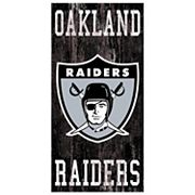 Oakland Raiders Heritage Logo Wall Sign
