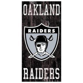 Oakland Raiders Heritage Logo Wall Sign