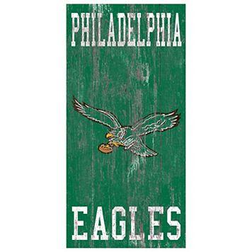 Philadelphia Eagles Heritage Logo Wall Sign