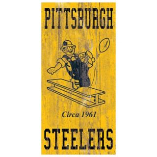 Pittsburgh Steelers Heritage Logo Wall Sign