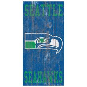 Seattle Seahawks Heritage Logo Wall Sign