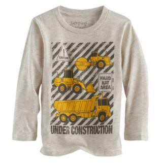 "Toddler Boy Jumping Beans® ""Under Construction"" Trucks Graphic Tee"